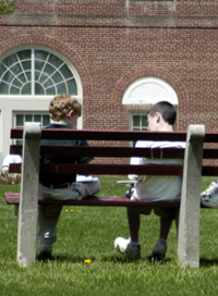 Class Outdoors on a Nice Day