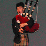 The Young Bagpiper