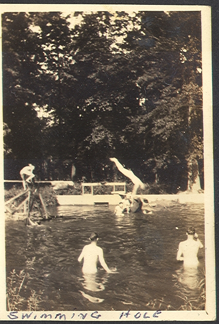 McDonogh Swimming Hole, 1920