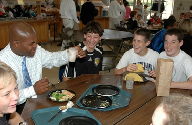 middle school lunch table. Simple Table Regular Lunch Tables To Sit With Those They Didnu0027t Know During Mix It  Up At Lunch Day Sponsored By The Middle School Diversity And Leadership Groups Intended Table L