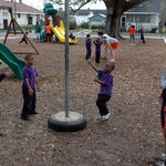 Tetherball at Recess