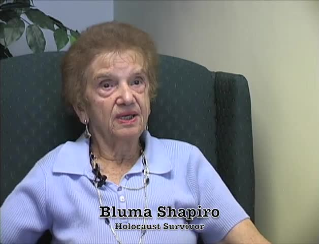 McDonogh Remembers - Bluma Shapiro