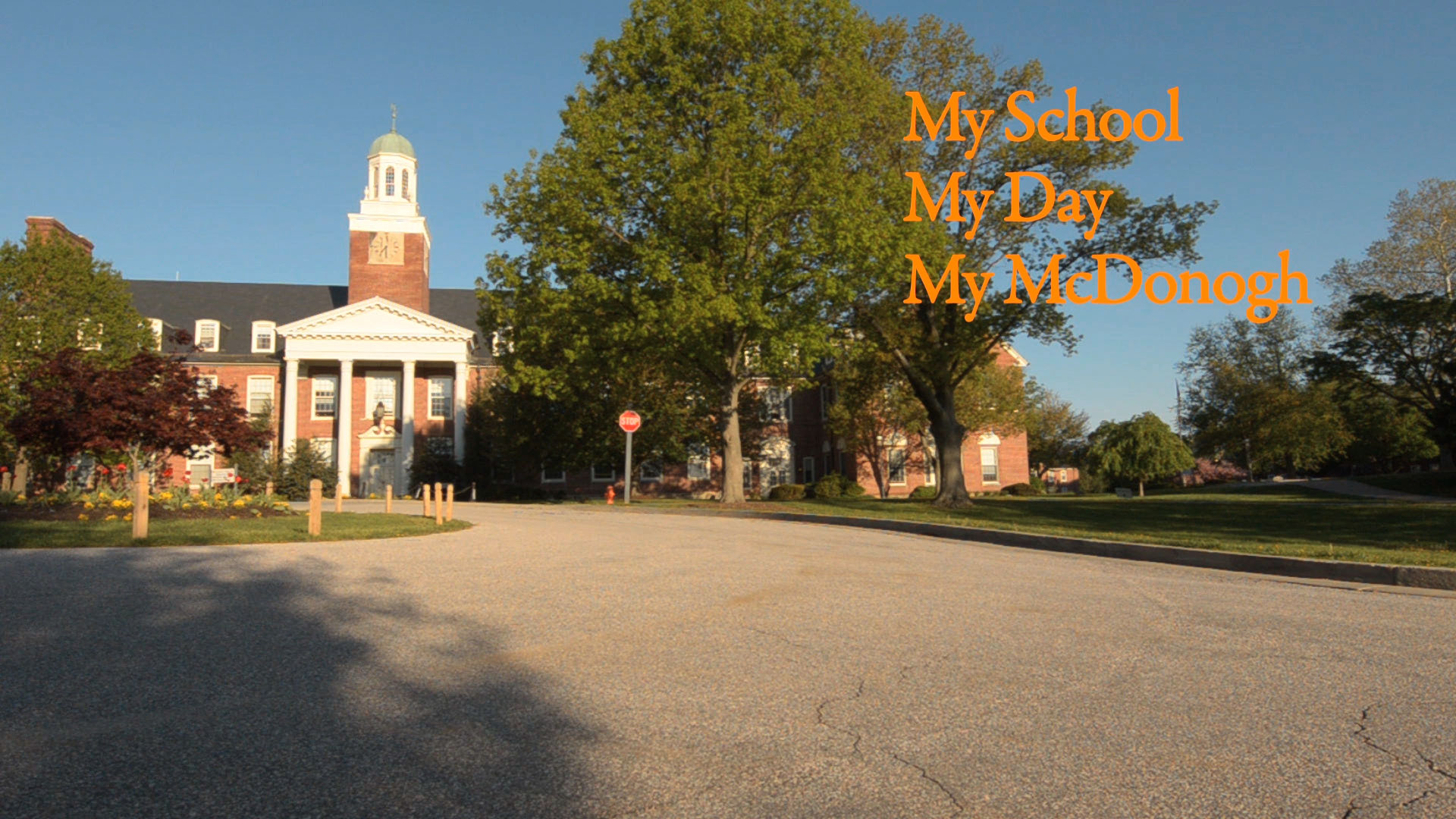 My School, My Day, My McDonogh