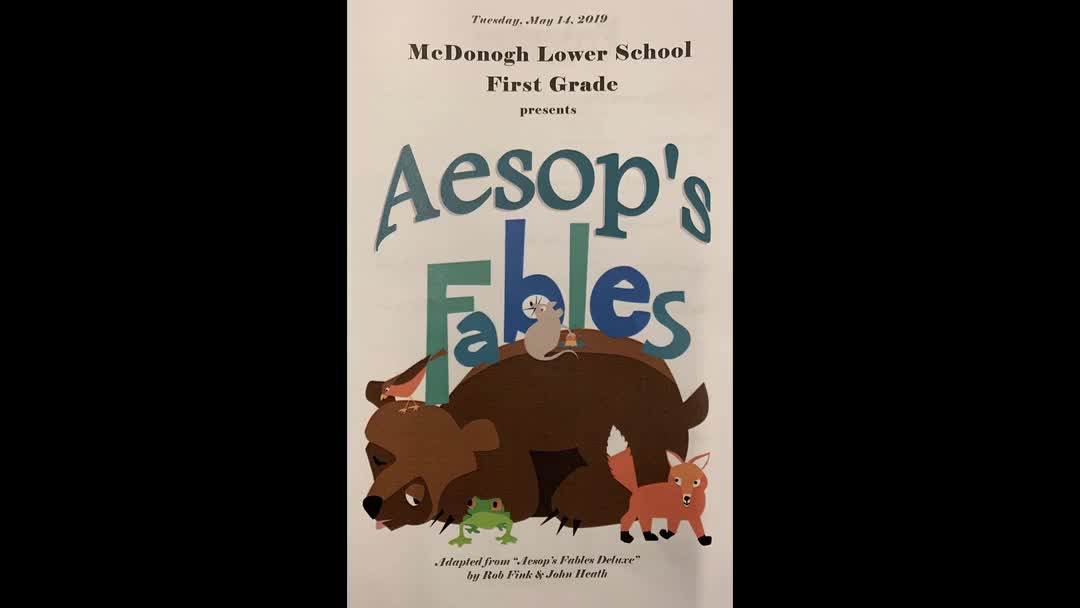 Aesops Fables - First Grade