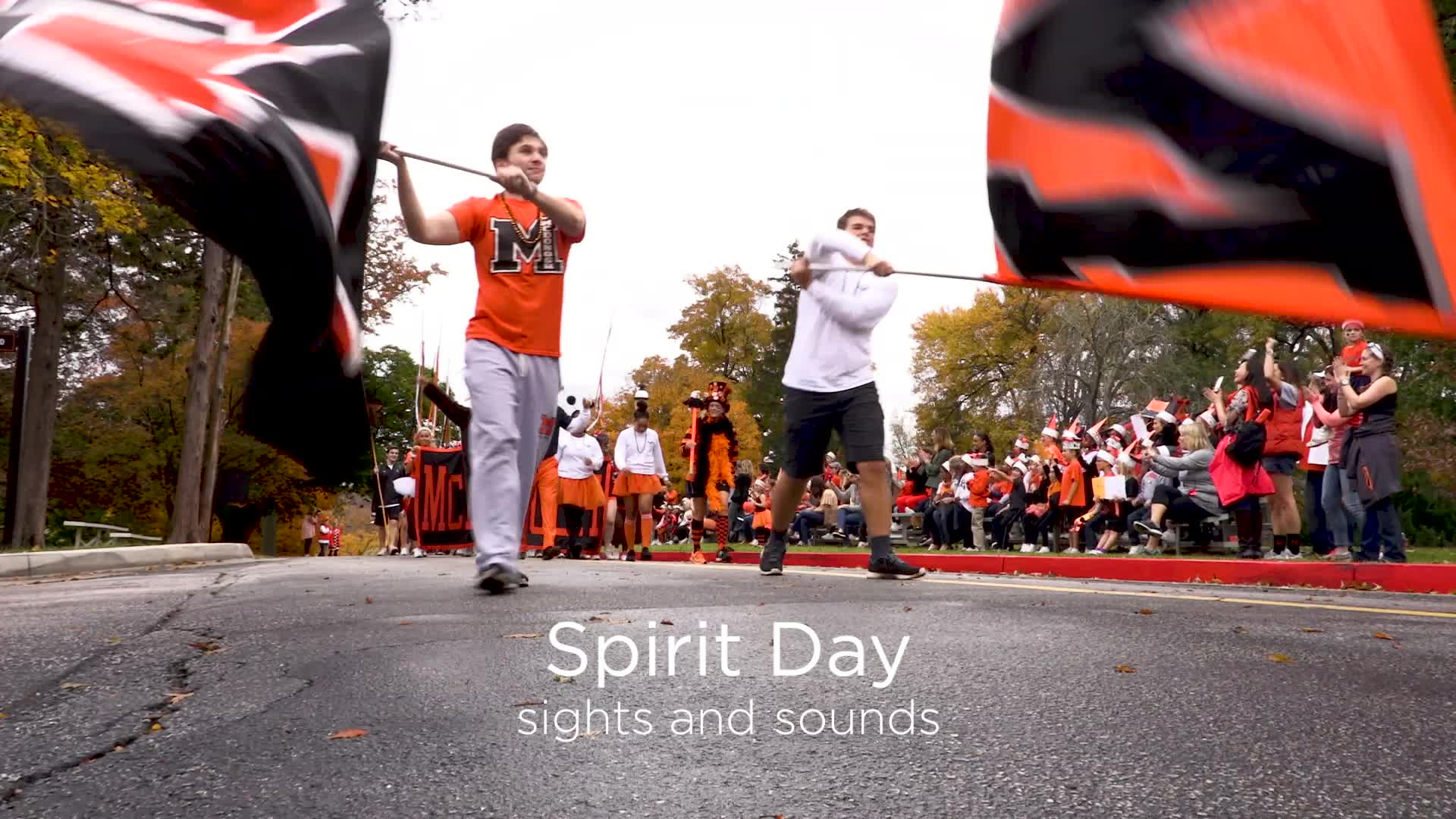 Spirit Day Sights and Sounds